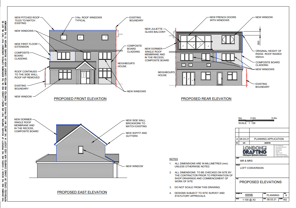 plan elevations